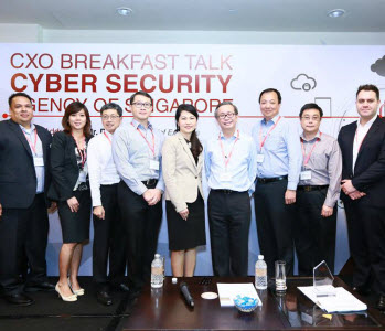 CE CSA delivers keynote address at the Singapore Infocomm Technology Federations CXO Breakfast Talk
