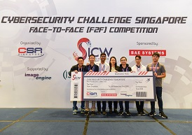 Cybersecurity Challenge F2F Competition