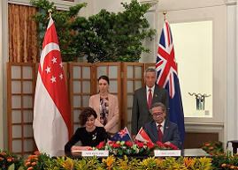 Singapore and New Zealand Sign Formal Arrangement to Further  Cybersecurity Cooperation