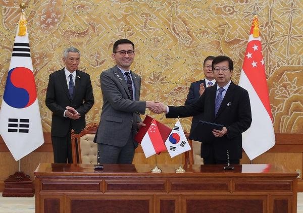 Singapore signs MOU with the Republic of Korea