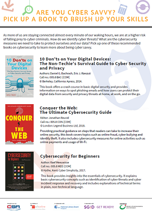 Cybersecurity Booklist Page 1