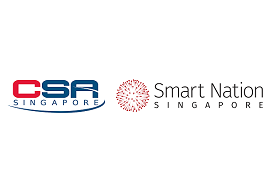 Cyber Security Agency of Singapore and Smart Nation and Digital Government Group logos