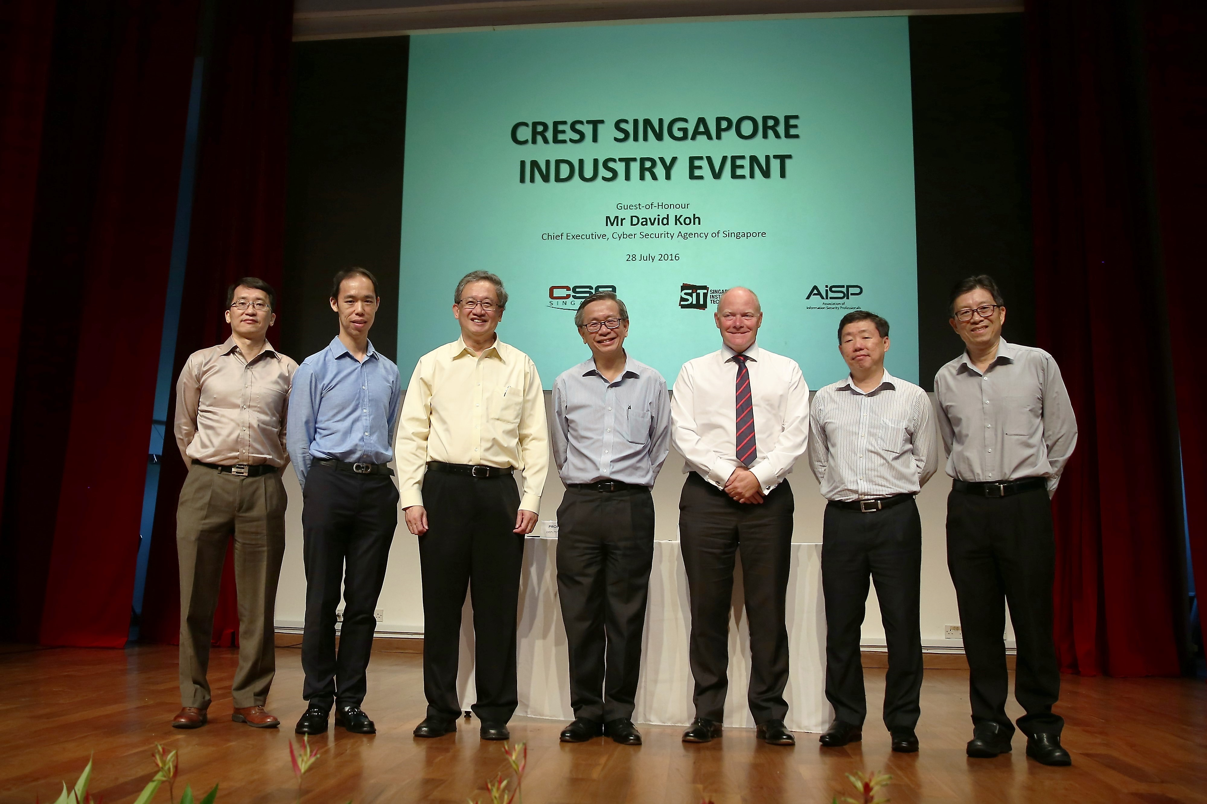CREST Singapore Industry Event