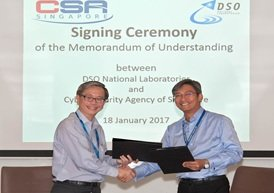 CE CSA with CEO DSO at MOU Signing Ceremony