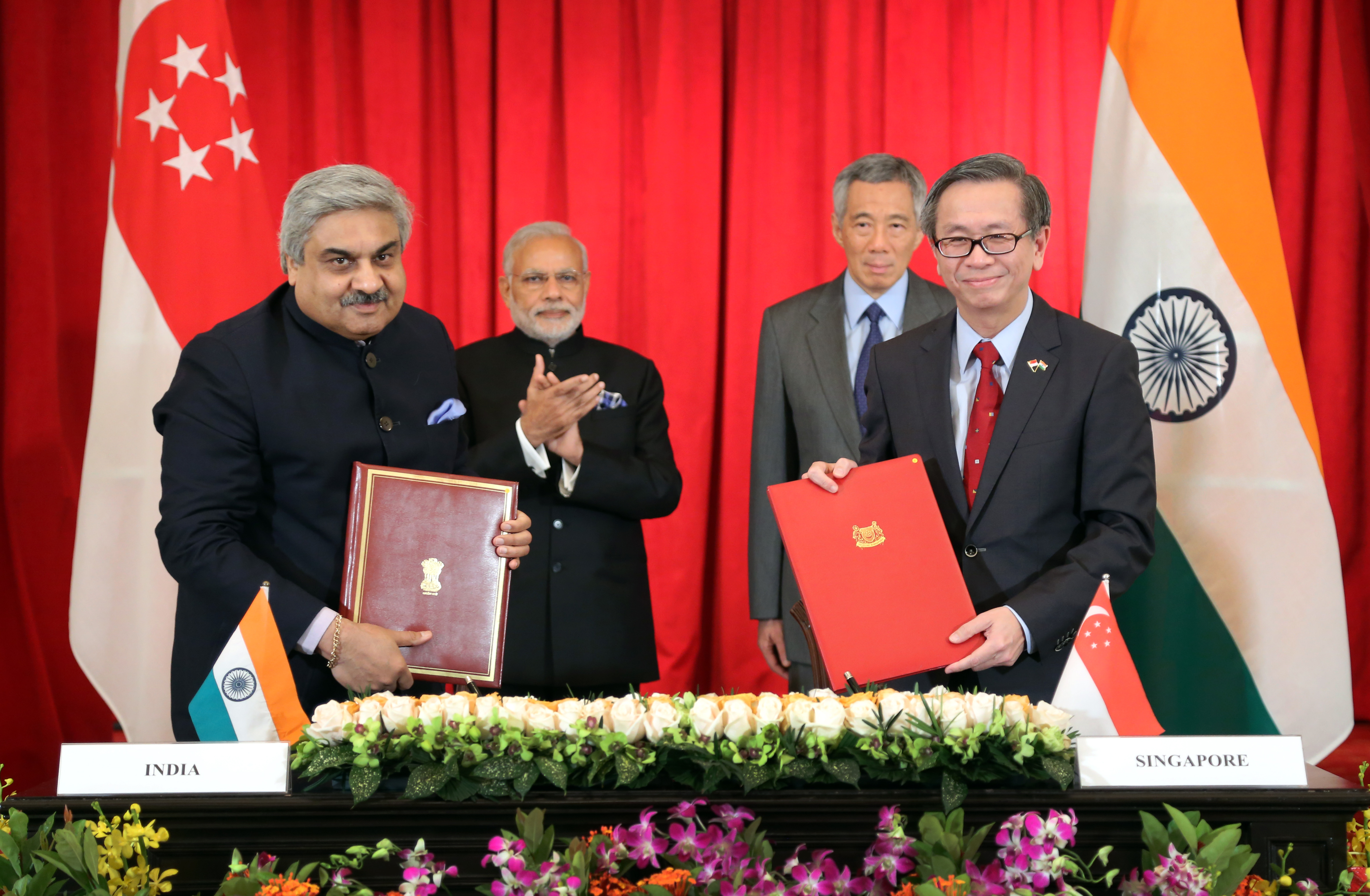 CSA signs MOU with India