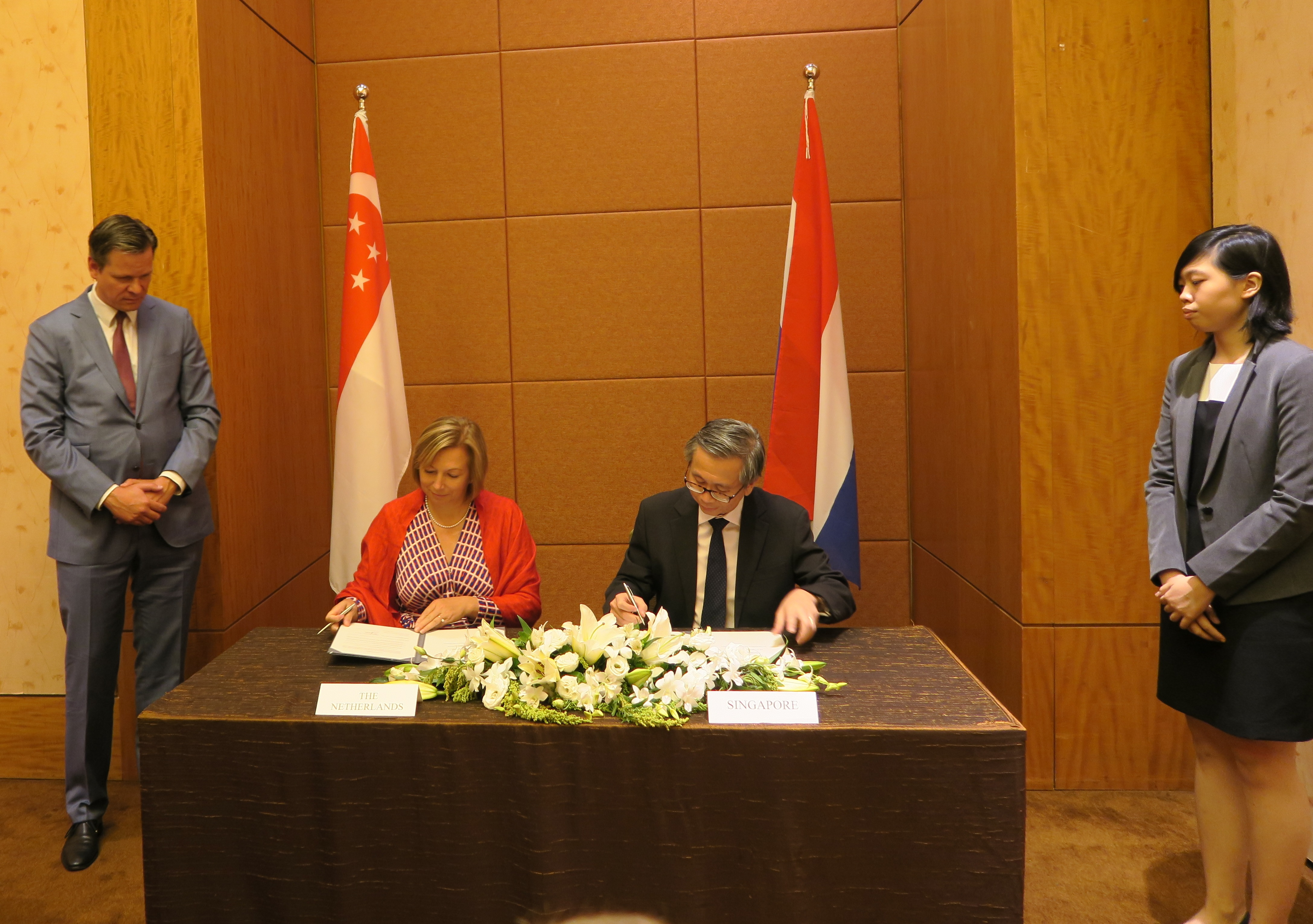 CSA signs MOU with Netherlands