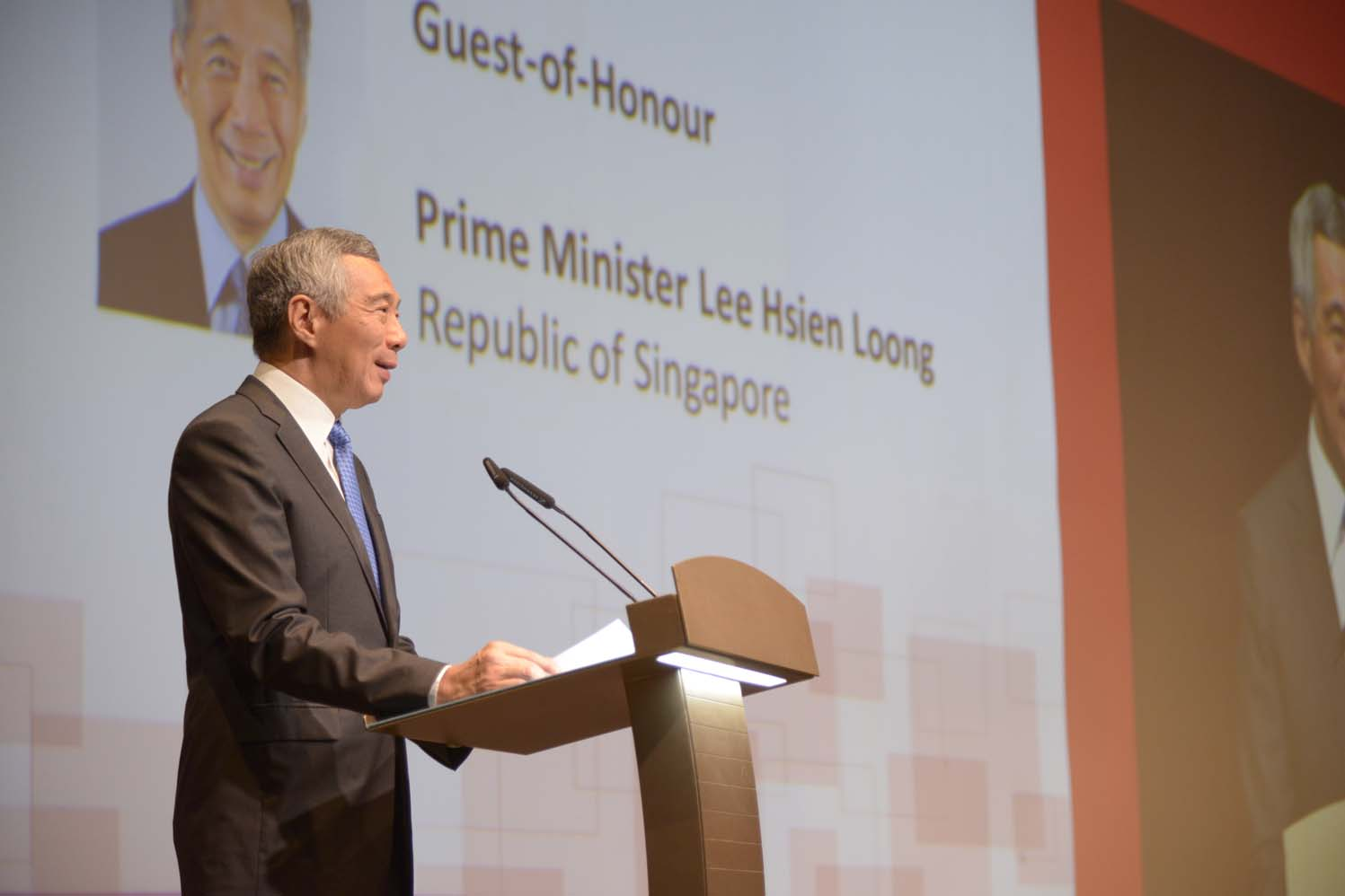 PM Lee Hsien Loong speaking at SICW 2016